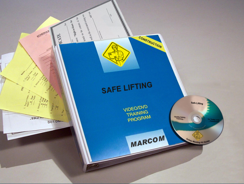Safe Lifting in Construction Environments DVD Program (#V0002389ET)