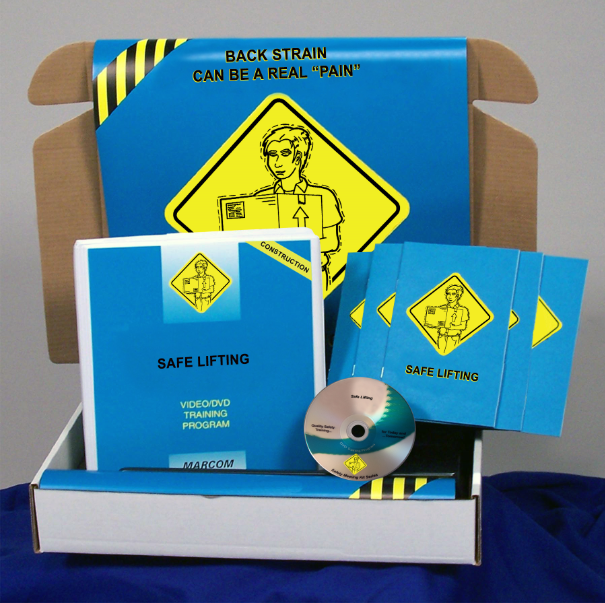 Safe Lifting in Construction Environments DVD Kit (#K0002389ET)