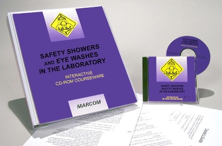 Safety Showers and Eye Washes in the Laboratory Interactive CD (#C0002030ED)