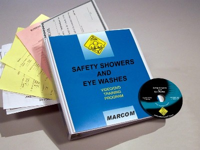 Safety Showers and Eye Washes DVD Program (#V0003719EM)