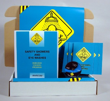 Safety Showers and Eye Washes DVD Kit (#K0003719EM)