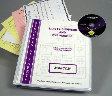 Safety Showers and Eye Washes in the Laboratory DVD Program (#V0002039EL)