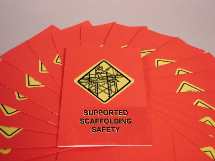 Supported Scaffolding Safety Booklet (#B000SPS0EO)