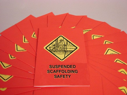 Suspended Scaffolding Safety Booklet (#B000PNS0EO)