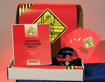 Suspended Scaffolding Safety DVD Kit (#K000PNS9EO)