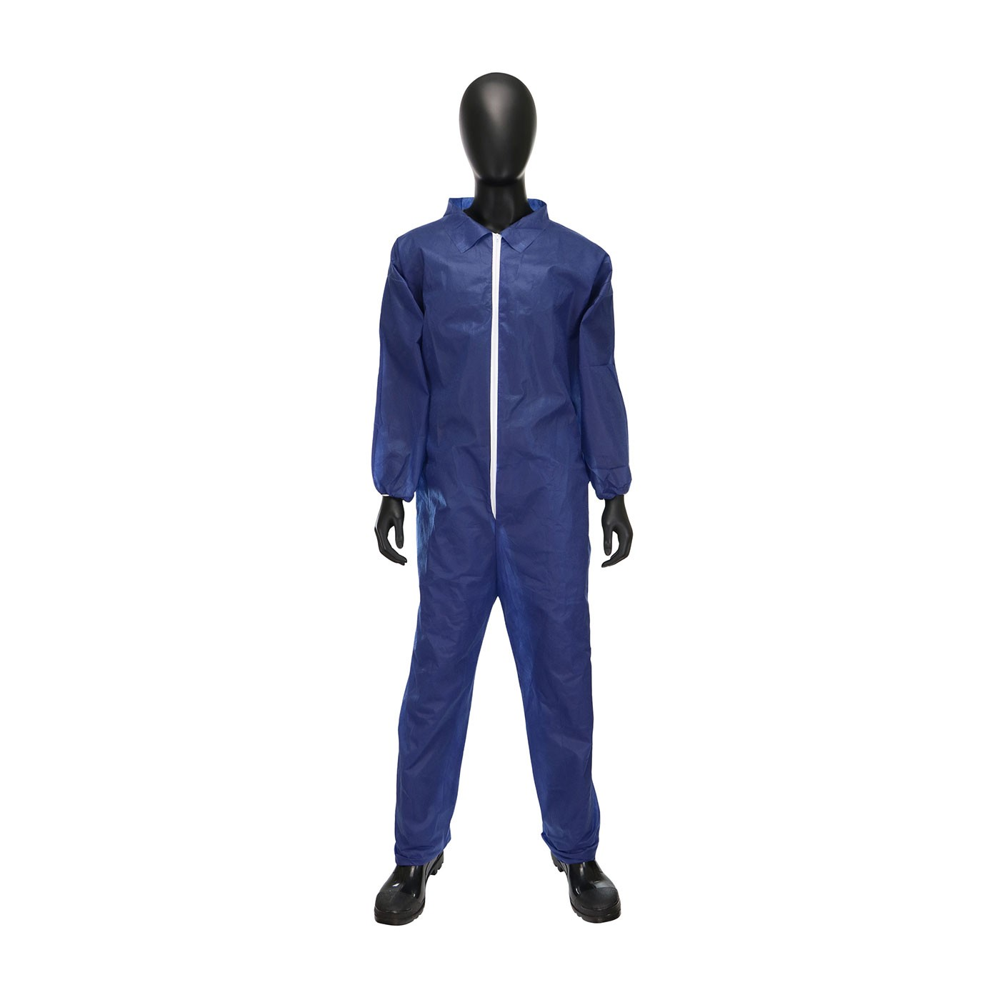 Heavy Weight SBP Basic Navy Coverall, Elastic Wrist & Ankles (#U1200B)
