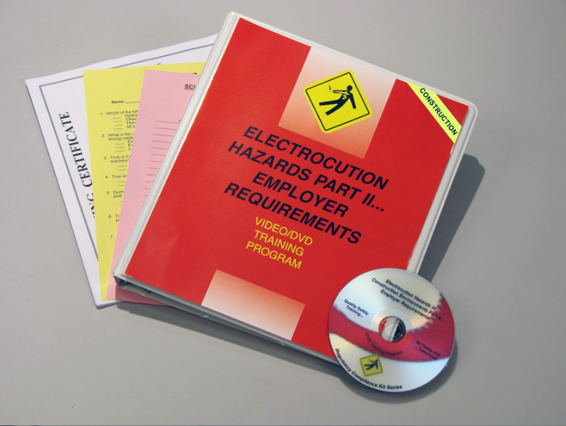 Electrocution Hazards in Construction Environments Part 2 - Employeer Requirements DVD (#V0003699ET)
