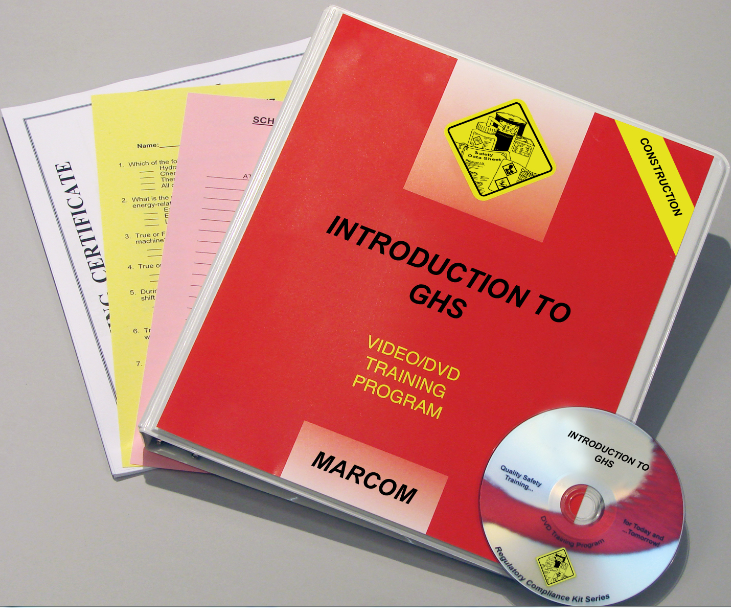 Introduction to GHS (The Globally Harmonized System... for Construction Workers) DVD Program (V0001599ET)