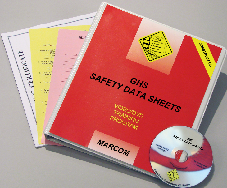 GHS Safety Data Sheets in Construction Environments DVD Program (#V0003589ET)