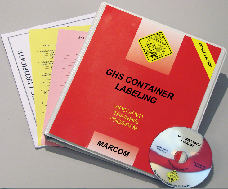 GHS Container Labels in Construction Environments DVD Program (#V0003599ET)