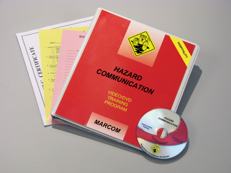 Hazard Communication in the Hospitality Environments DVD Program (#V0003549EO)
