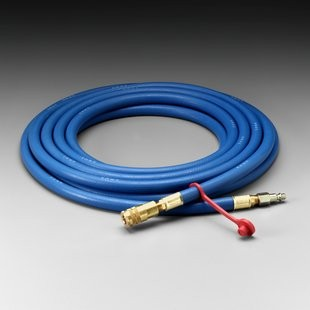 3M™ Supplied Air Respirator Hose, Industrial Interchange Fittings, High Pressure, 25' (#W-9435-25)