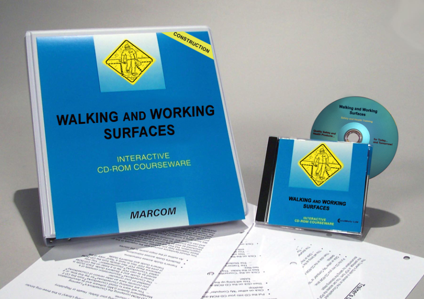 Walking and Working Surfaces in Construction Environments Interactive CD (#C0002470ED)