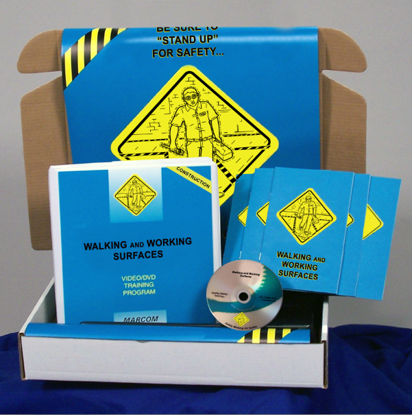 Walking and Working Surfaces in Construction Environments DVD Kit (#K0002479EM)
