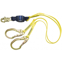 Force2™ 100% Tie-Off Shock Absorbing Lanyard (#1246159)