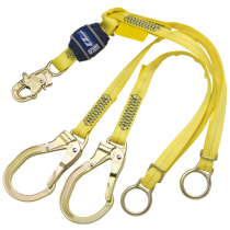EZ-Stop™ Tie-Back 100% Tie-Off Shock Absorbing Lanyard (#1246072)