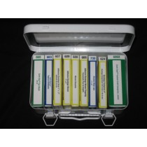 First Aid Kit, 10-unit, filled (#FAK10)