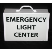 Emergency Light Center, empty (#ELC)