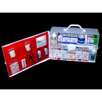 First Aid Cabinet, 2-shelf, filled (#723MTMSDF)