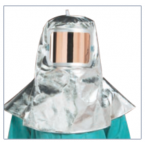 12oz. Aluminized Carbon Fleece Hood (#0647-ACF)