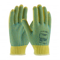 Kut Gard® Seamless Knit Kevlar® Glove with Double-Sided PVC Dot Grip - Heavy Weight  (#08-K350PDD)