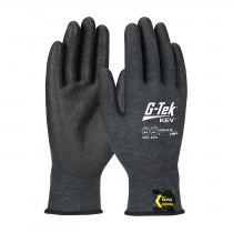 G-Tek® KEV™ Seamless Knit Kevlar® Blended Glove with NeoFoam® Coated Palm & Fingers - Touchscreen Compatible  (#09-K1218)