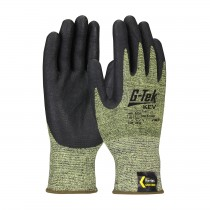 G-Tek® KEV™ Seamless Knit Kevlar® Blended Glove with Nitrile Coated Foam Grip on Palm & Fingers  (#09-K1600)
