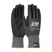 G-Tek® KEV™ Seamless Knit Kevlar® Blended Glove with Nitrile Coated Foam Grip on Palm & Fingers  (#09-K1618)