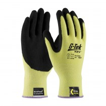 G-Tek® KEV™ Seamless Knit Kevlar® Glove with Nitrile Coated MicroFinish Grip on Palm & Fingers  (#09-K1650)