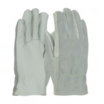 PIP® Top Grain Goatskin / Split Cowhide Leather Drivers Glove with Kevlar® Liner - Straight Thumb  (#09-K3720)