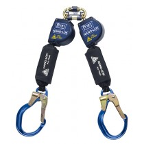 Nano-Lok™ Arc Flash Twin-Leg Quick Connect Self Retracting Lifeline - Web (#3101540)