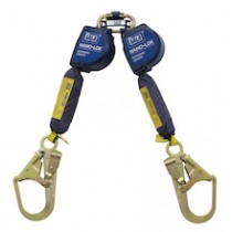 Nano-Lok™ Extended Length Twin-Leg Quick Connect Self Retracting Lifeline - Web (#3101627)