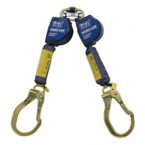 Nano-Lok™ Extended Length Twin-Leg Quick Connect Self Retracting Lifeline - Web (#3101626)