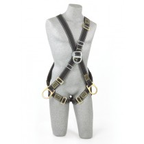 Delta™ Cross-Over Style Welder's Positioning/Climbing Harness (#1104776)