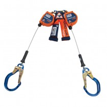 Nano-Lok™ edge Twin-Leg Quick Connect Self Retracting Lifeline - Cable (#3500231)