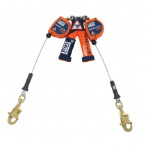 Nano-Lok™ edge Twin-Leg Quick Connect Self Retracting Lifeline - Cable (#3500226)