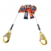 Nano-Lok™ edge Twin-Leg Quick Connect Self Retracting Lifeline - Cable (#3500225)