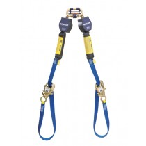 Nano-Lok™ Tie-Back Twin-Leg Quick Connect Self Retracting Lifeline - Web (#3101374)