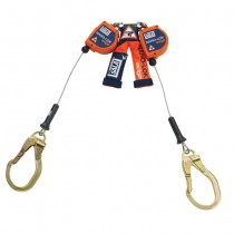 Nano-Lok™ edge Twin-Leg Quick Connect Self Retracting Lifeline - Cable (#3500227)