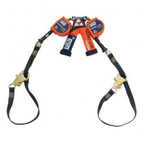 Nano-Lok™ edge Twin-Leg Tie-Back Quick Connect Self Retracting Lifeline - Cable (#3500228)