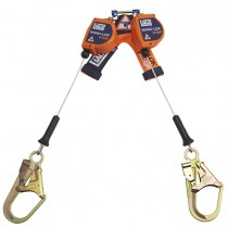 Nano-Lok™ edge Twin-Leg Quick Connect Self Retracting Lifeline - Cable (#3500246)