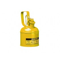 Justrite Type I Safety Can, quart, Yellow (#10111)