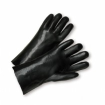 "West Chester® PVC Dipped Glove with Interlock Liner and Smooth Finish - 10""  (#W1017)"