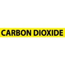 Carbon Dioxide Pressure-Sensitive Vinyl Pipe Marker (#1037Y)