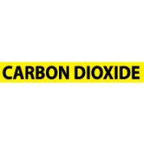 Carbon Dioxide Pressure-Sensitive Vinyl Pipe Marker (#1037Y)