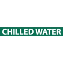 Chilled Water Pressure-Sensitive Vinyl Pipe Marker (#1046G)