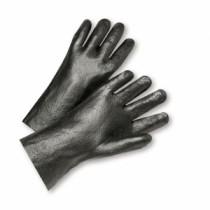 "Semi-Rough PVC Interlock 14"" Gloves (#1047R)"