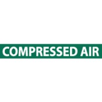 Compressed Air Pressure-Sensitive Vinyl Pipe Marker (#1061G)