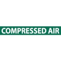 Compressed Air Pressure-Sensitive Vinyl Pipe Marker (#1061G)
