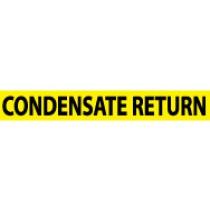 Condensate Return Pressure-Sensitive Vinyl Pipe Marker (#1064Y)